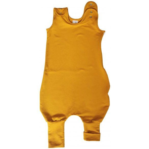 Egyszínű mustársárga tipegőhálózsák
